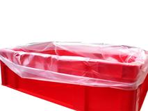 Einlegesäcke aus HDPE für E2-Kisten