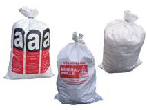Bändchengewebesäcke – Mineralwollsäcke