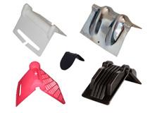 Kantenschutzecken aus Kunststoff und Metall
