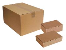 WP-Kartons und Zubehör