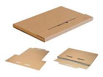 Wellpapp-Kalenderverpackungen – braun