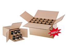 Flaschenverpackungen für 0,33l - 0,5l – Flaschen