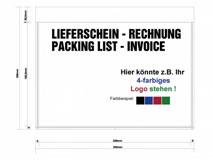 Begleitpapiertaschen DIN C5 bedruckt mit Ihrem individuellen Firmenlogo