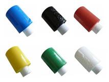 Ministretchfolie, schwarz - weiß - blau - grün - rot - gelb - orange (Bündelstretchfolie)