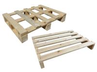 Holzeinwegpaletten 600x800 mm