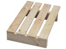 Holzeinwegpaletten 400x600 mm