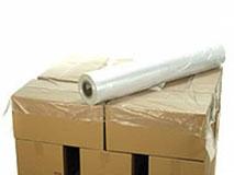 Palettenabdeckblätter aus HDPE, transparent - 1200x1600 mm - 25 µ (passend für Europaletten-Format)