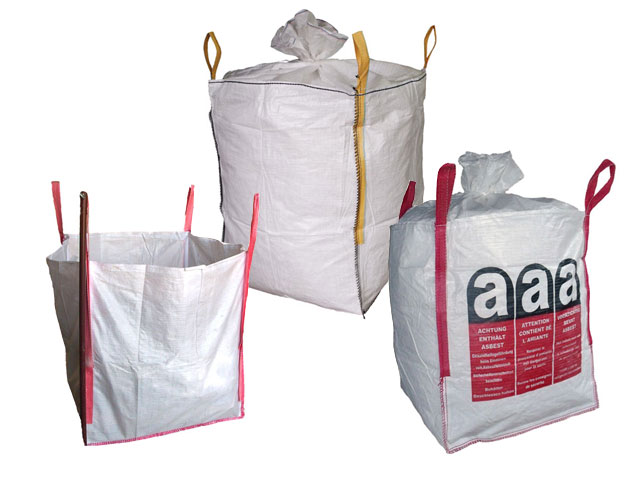 Astbestsäcke - Big-Bags - Containerbags