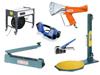 Verpackungsmaschinen, Geräte, Schneidständer und Packtische