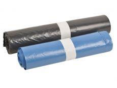 LDPE-Abfallsäcke, grau - 140 L - 800x1000 mm, Typ 70