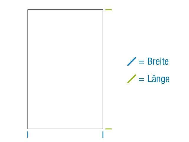 OPP-Flachbeutel, hochtransparent 80x160 mm - 30 µ - mit Siegelnaht