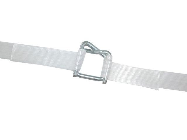 Drahtklemmen für 35 mm - Kunststoffband