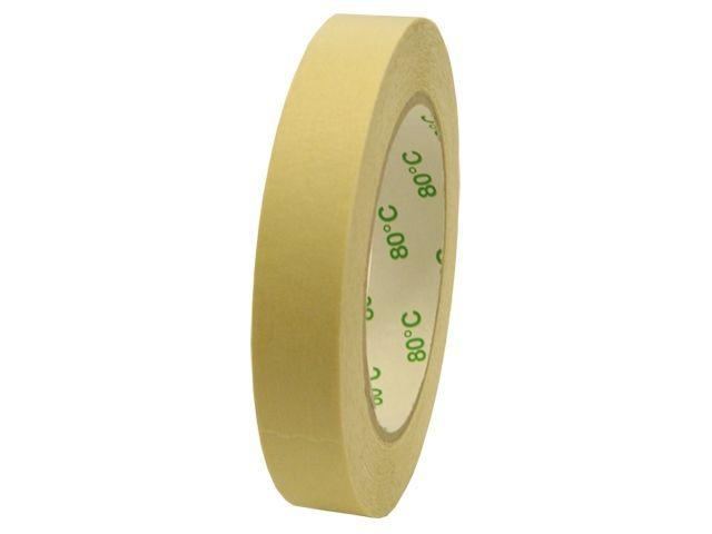 Flachkrepp-Klebeband - 38mmx50m - bis 80 °C hitzebeständig