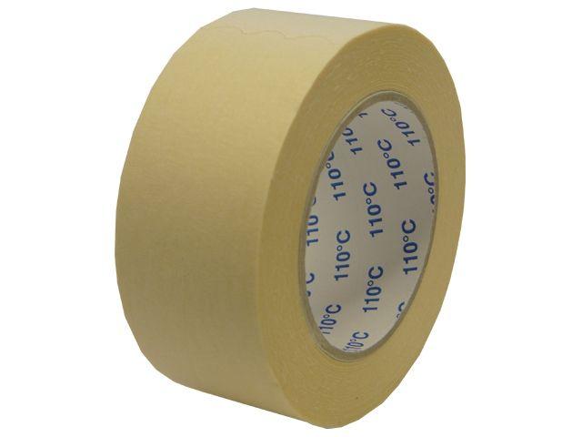Flachkrepp-Klebeband - 50mmx50m - bis 110 °C hitzebeständig
