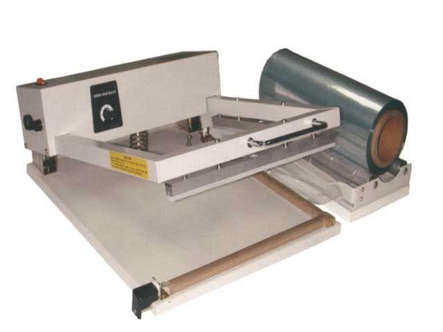 Folienabroller für Schlauch- und Halbschlauchfolien - max. 450 mm Folienbreite