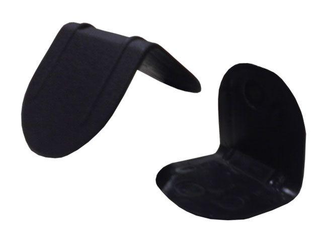Kantenschutzecken aus Kunststoff ohne Dorn 40x40x40 mm - max. Bandbreite 19 mm