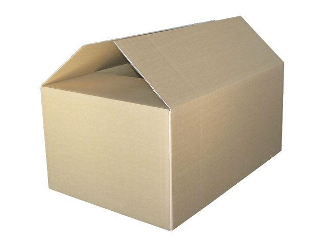 Containerboxen aus Wellpappe, braun - 1180x780x545 mm aus 2-welliger Wellpappe