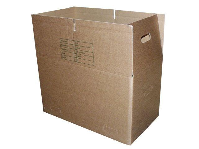 WP-Umzugskartons, braun - 650x350x370 mm