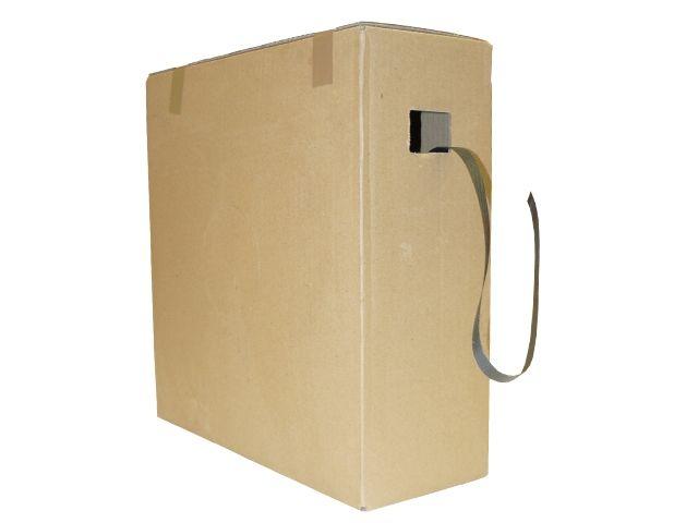 PP-Umreifungsband, schwarz - 16,0x0,50mmx1000m - Reißkraft 135 Kg - Spendekarton
