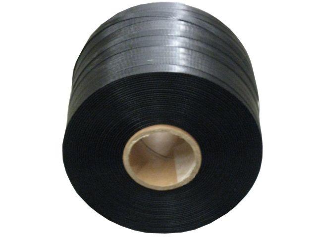 PP-Umreifungsband, schwarz - 12,0x0,55mmx600m - Reißkraft 150 Kg - Kern 62 mm