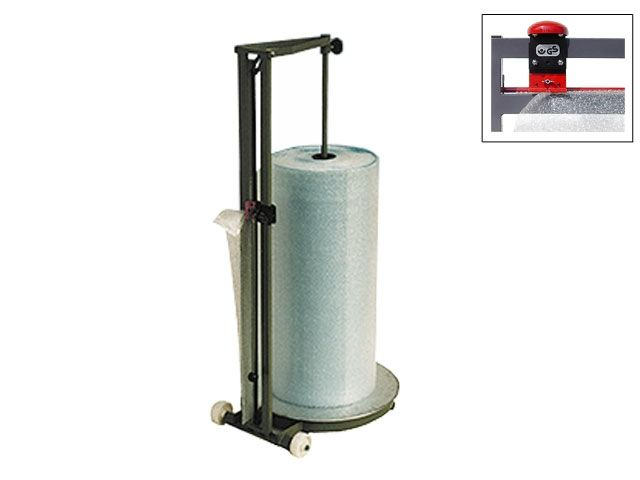 Senkrechtschneidständer bis 125 cm Rollenbreite - fahrbar