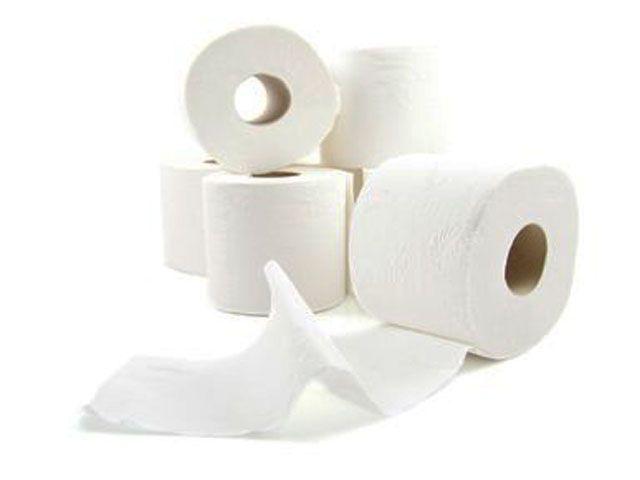 Toilettenpapier, hochweiss - 3-lagig