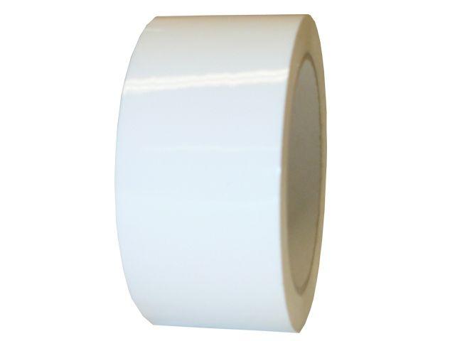 PVC Paketband, weiß - 50mmx66m - 53µ - Naturkautschukklebstoff - Nr. 866