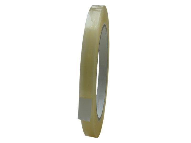 PVC Paketband, transparent - 9mmx66m - 53µ - Naturkautschukklebstoff - Nr. 866