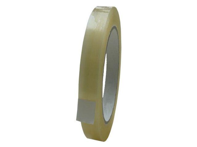 PP Paketband, transparent - leise abrollend -12mmx66m - 48µ - Acrylatklebstoff - Nr. 851