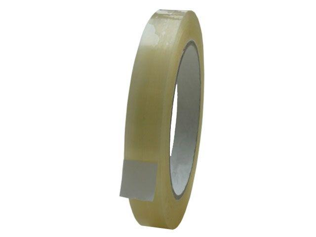 PP Paketband, transparent - leise abrollend -15mmx66m - 48µ - Acrylatklebstoff - Nr. 851