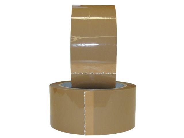 PP Paketband, braun - leise abrollend - 50mmx66m - 48µ - Acrylatklebstoff - Nr. 851