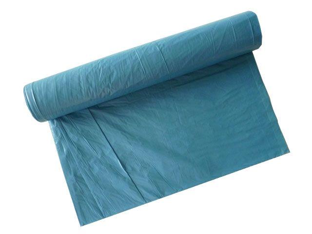 LDPE-Müllbeutel, blau - 120 L - 700x1100 mm, Typ 100 extra - 67my