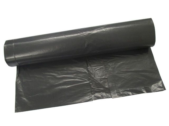 LDPE-Müllbeutel, grau - 120 L - 700x1100 mm, Typ 100 extra - 67my