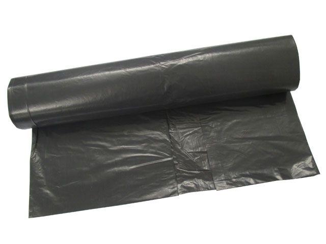 LDPE-Müllbeutel, grau - 600x800 mm Typ 60 - 34my