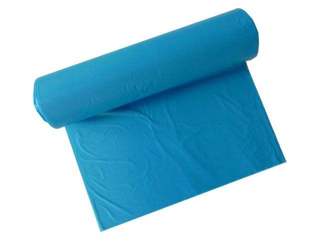 HDPE-Müllbeutel, blau  - 120 L - 700x1100 mm