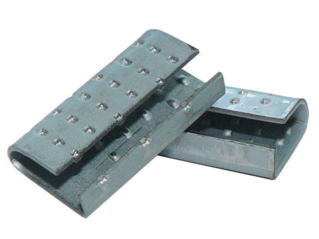 Verschlusshülsen, geriffelt 16x30x1,0 mm - für Orgapack Einhebelspanner