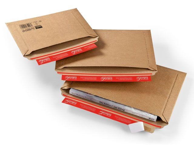 Versandtasche mit Querbefüllung - 400x285x50 mm - TYP CP 015.07